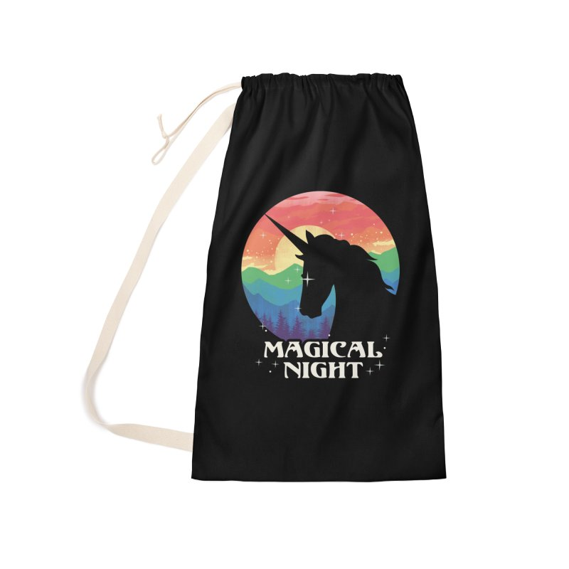 Magical Night Accessories Laundry Bag Bag by dandingeroz's Artist Shop