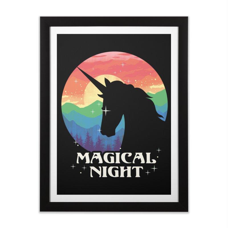 Magical Night Home Framed Fine Art Print by dandingeroz's Artist Shop