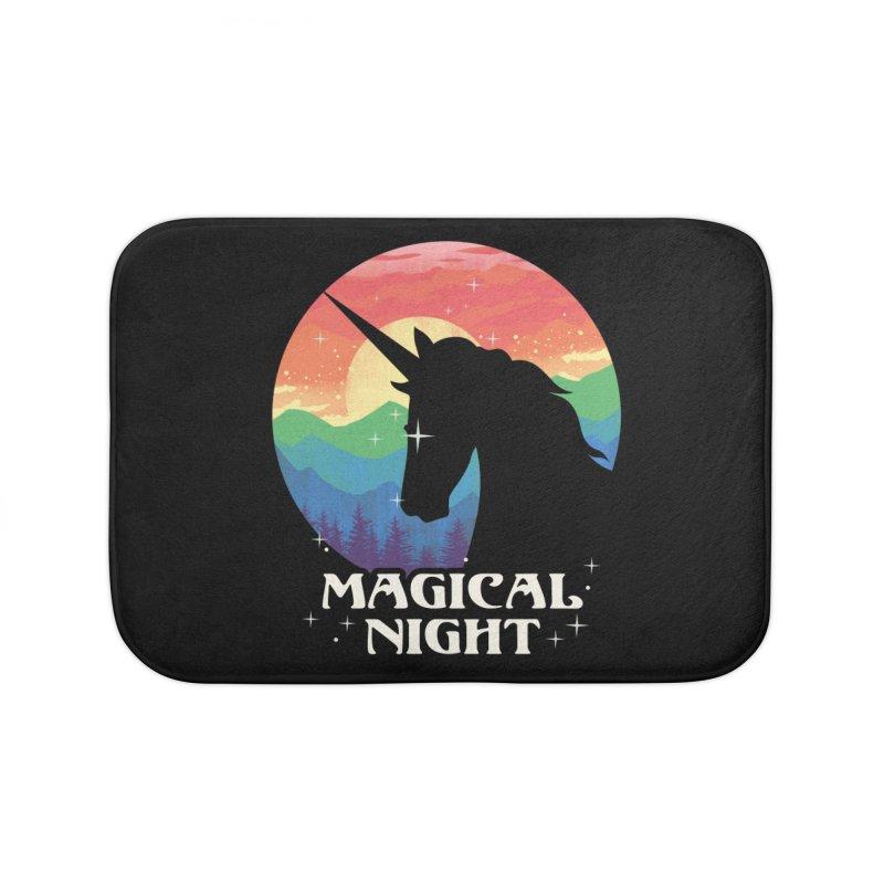 Magical Night Home Bath Mat by dandingeroz's Artist Shop