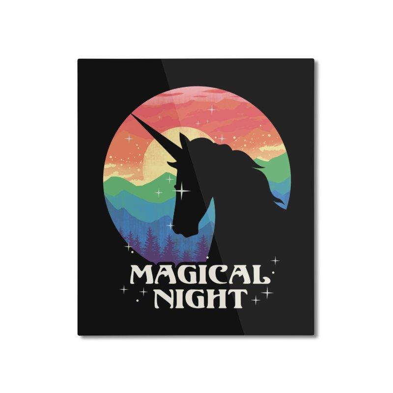 Magical Night Home Mounted Aluminum Print by dandingeroz's Artist Shop