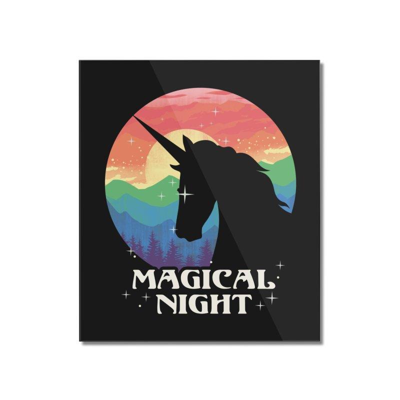 Magical Night Home Mounted Acrylic Print by dandingeroz's Artist Shop