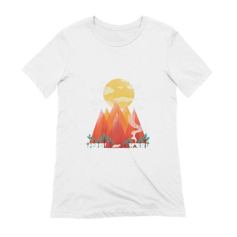 Hunting Day Women's Extra Soft T-Shirt by dandingeroz's Artist Shop