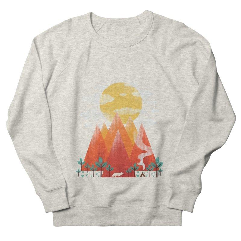 Hunting Day Women's French Terry Sweatshirt by dandingeroz's Artist Shop