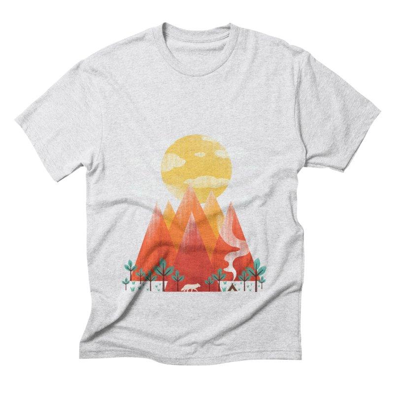 Hunting Day Men's Triblend T-Shirt by dandingeroz's Artist Shop