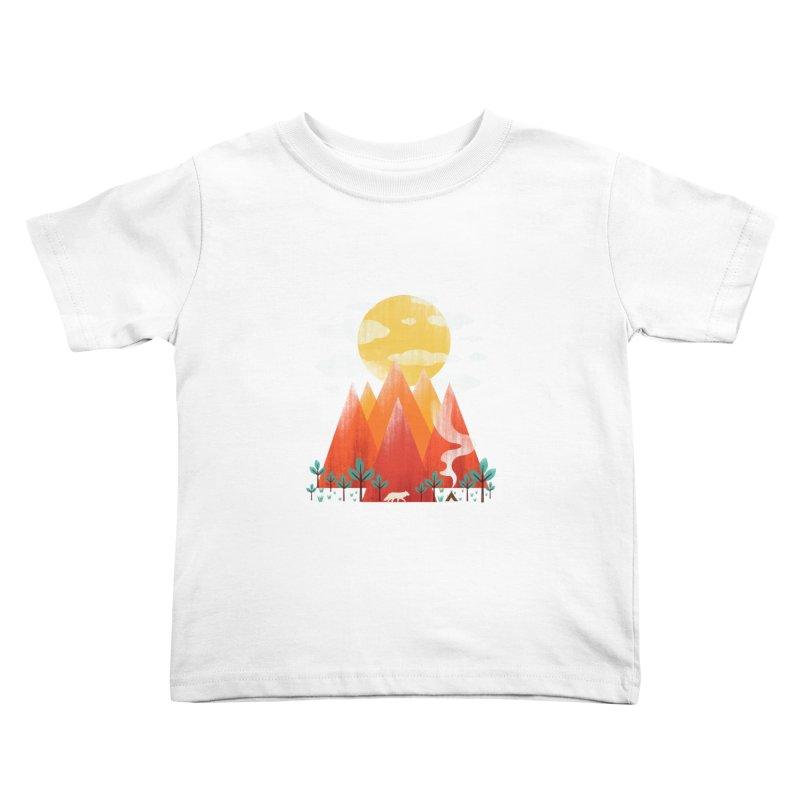 Hunting Day Kids Toddler T-Shirt by dandingeroz's Artist Shop