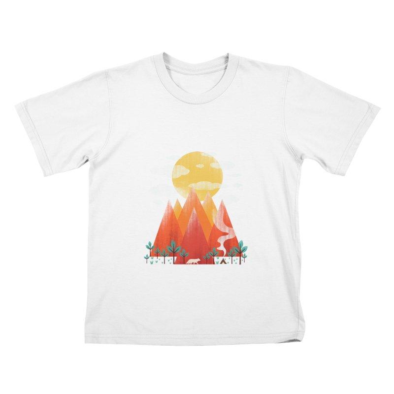 Hunting Day Kids T-Shirt by dandingeroz's Artist Shop
