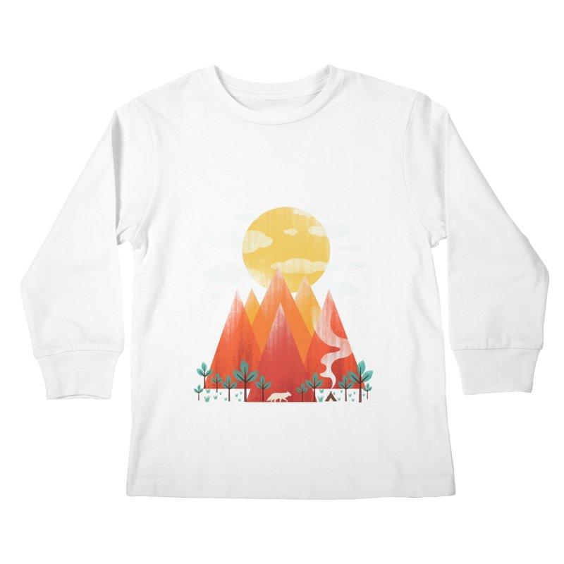 Hunting Day Kids Longsleeve T-Shirt by dandingeroz's Artist Shop