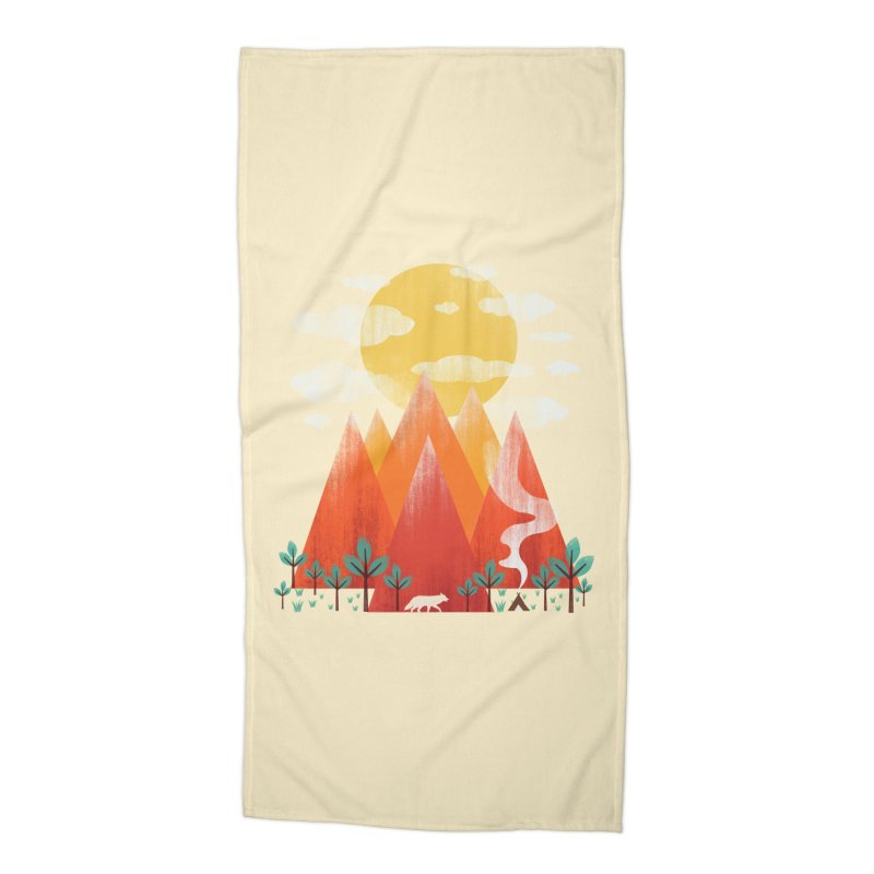 Hunting Day Accessories Beach Towel by dandingeroz's Artist Shop