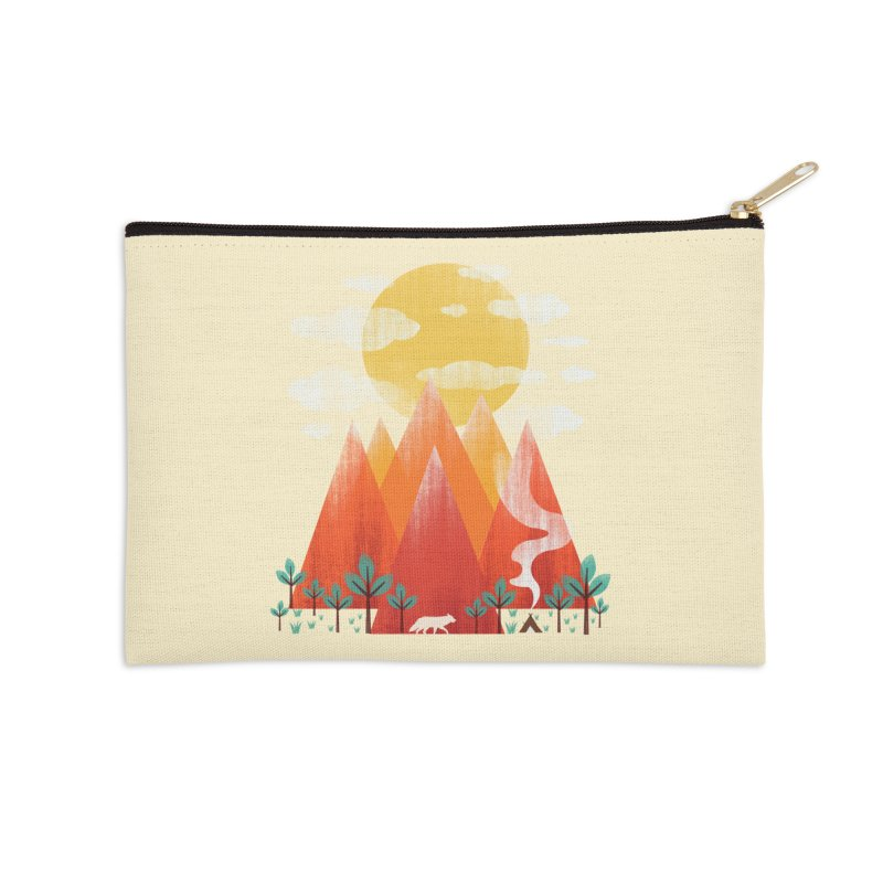 Hunting Day Accessories Zip Pouch by dandingeroz's Artist Shop