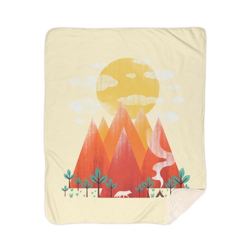 Hunting Day Home Sherpa Blanket Blanket by dandingeroz's Artist Shop