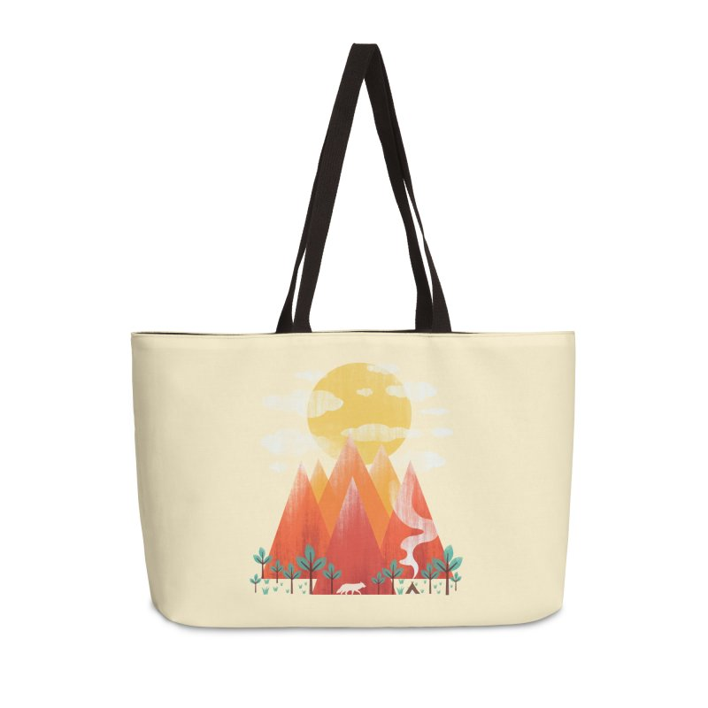 Hunting Day Accessories Weekender Bag Bag by dandingeroz's Artist Shop