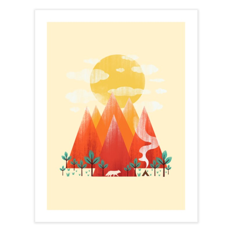 Hunting Day Home Fine Art Print by dandingeroz's Artist Shop