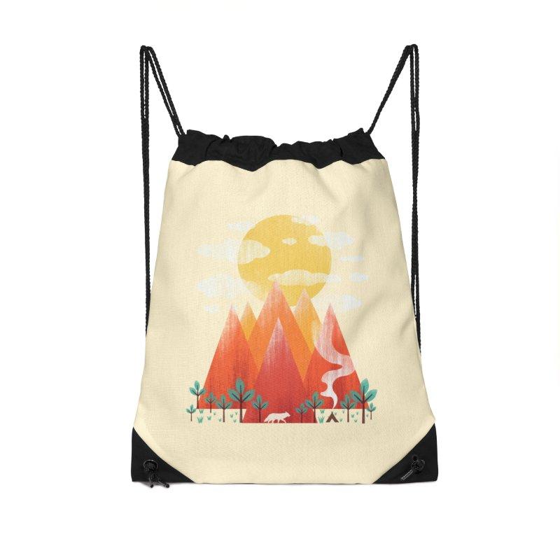 Hunting Day Accessories Drawstring Bag Bag by dandingeroz's Artist Shop
