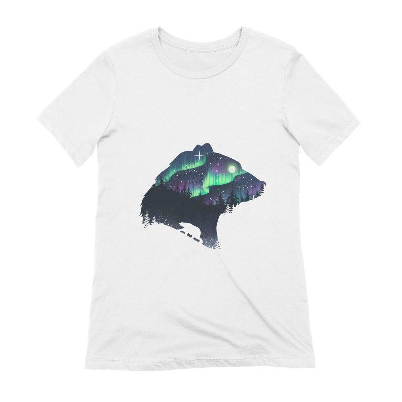 Northern Lights Women's Extra Soft T-Shirt by dandingeroz's Artist Shop