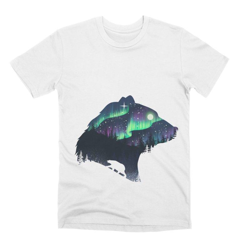 Northern Lights Men's Premium T-Shirt by dandingeroz's Artist Shop