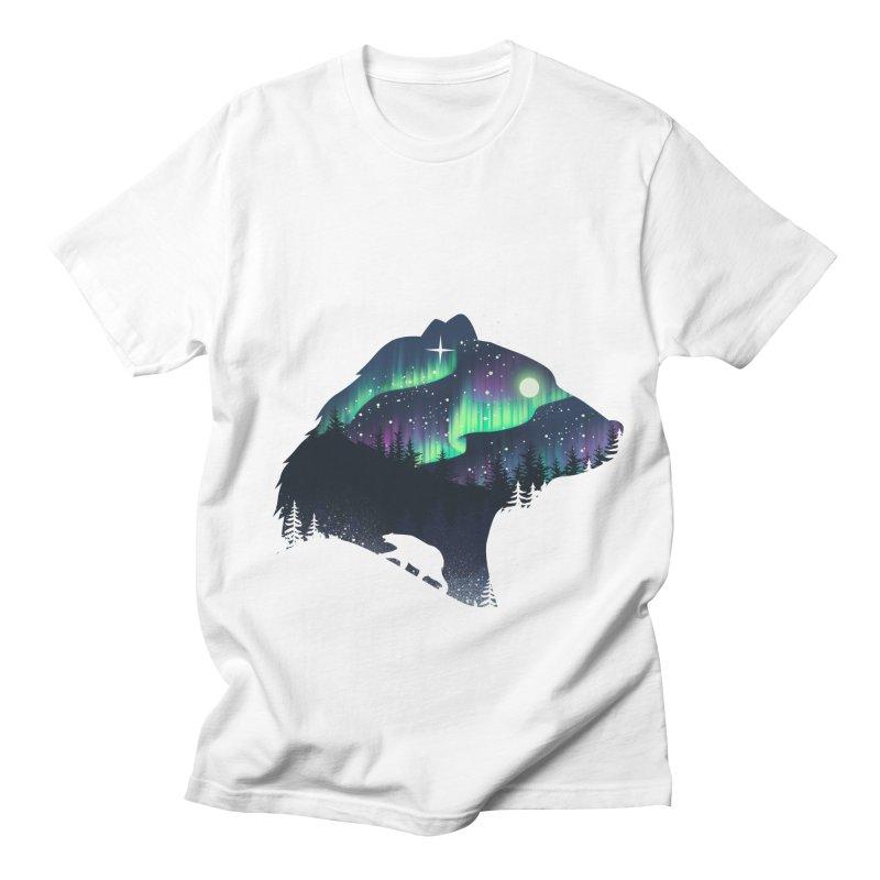 Northern Lights Women's Regular Unisex T-Shirt by dandingeroz's Artist Shop