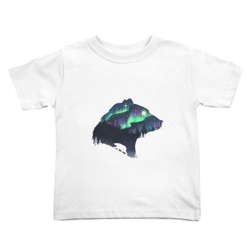 Northern Lights Kids Toddler T-Shirt by dandingeroz's Artist Shop
