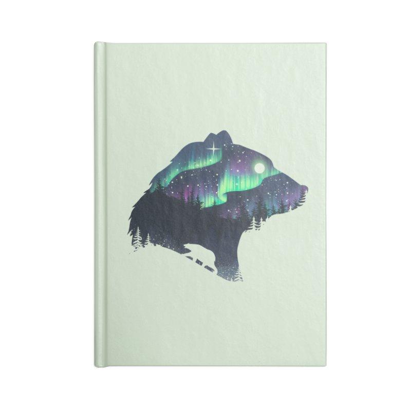 Northern Lights Accessories Lined Journal Notebook by dandingeroz's Artist Shop