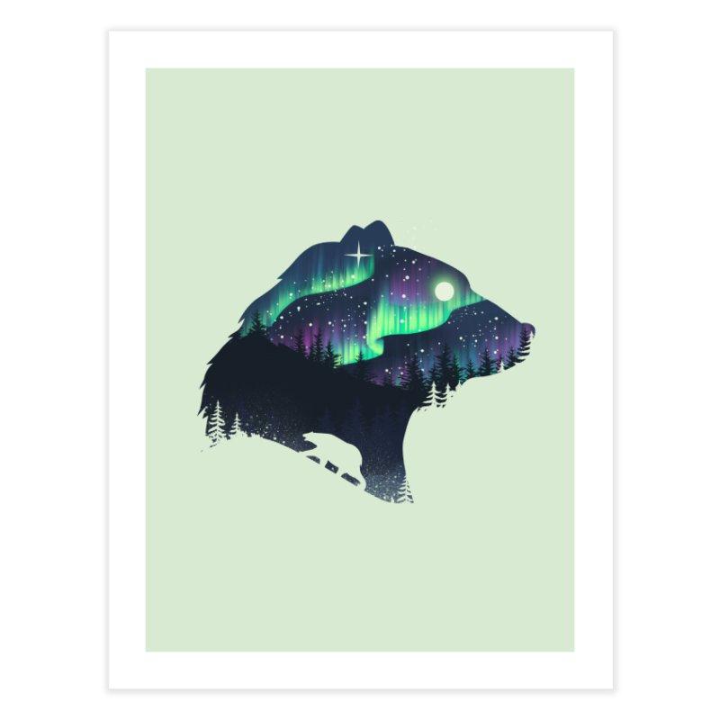 Northern Lights Home Fine Art Print by dandingeroz's Artist Shop