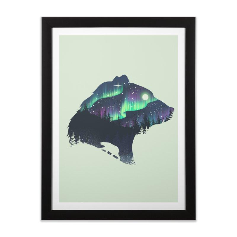 Northern Lights Home Framed Fine Art Print by dandingeroz's Artist Shop
