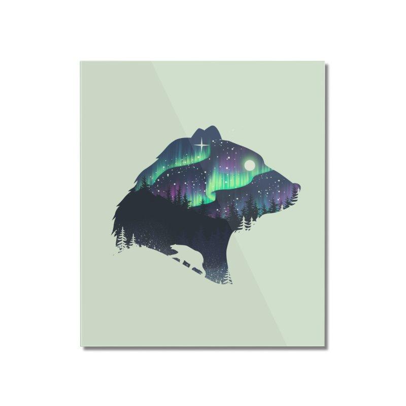 Northern Lights Home Mounted Acrylic Print by dandingeroz's Artist Shop
