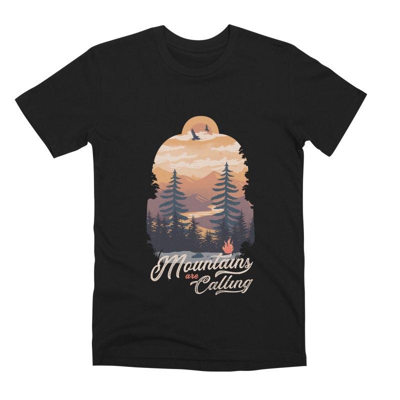Camping Club Men's Premium T-Shirt by dandingeroz's Artist Shop