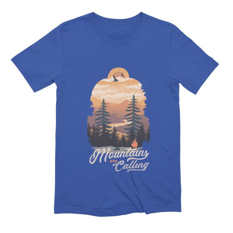 Camping Club Men's Extra Soft T-Shirt by dandingeroz's Artist Shop