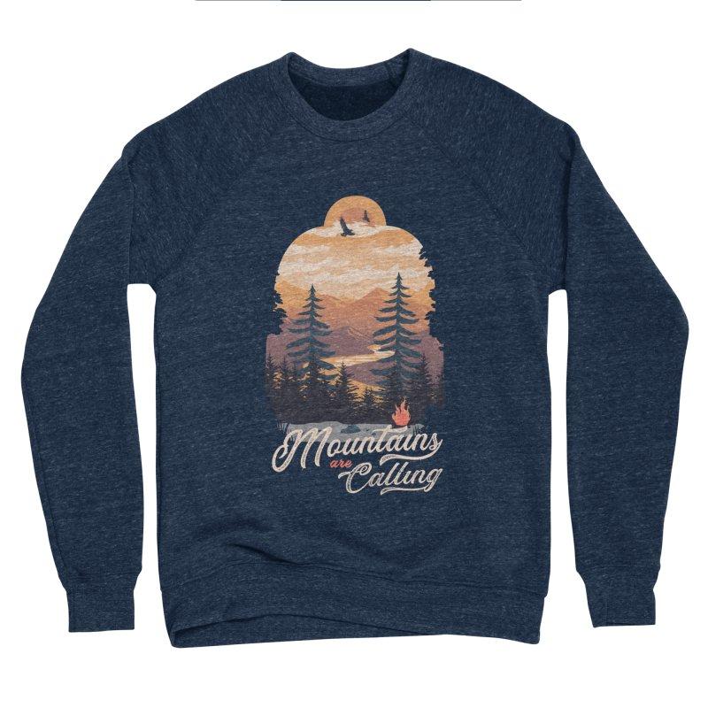 Camping Club Women's Sponge Fleece Sweatshirt by dandingeroz's Artist Shop