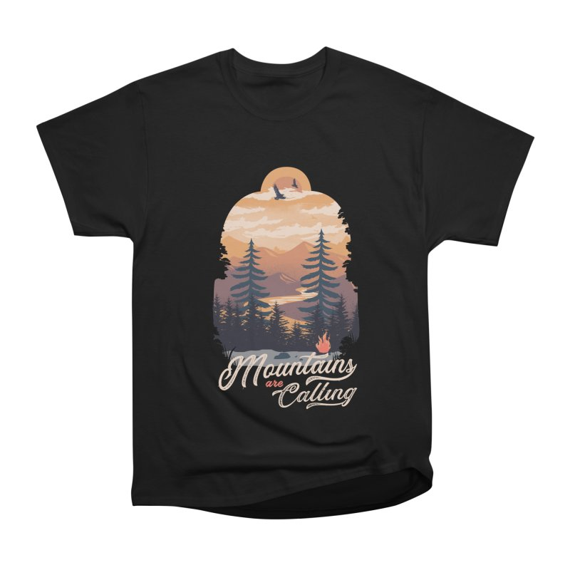 Camping Club Men's Heavyweight T-Shirt by dandingeroz's Artist Shop