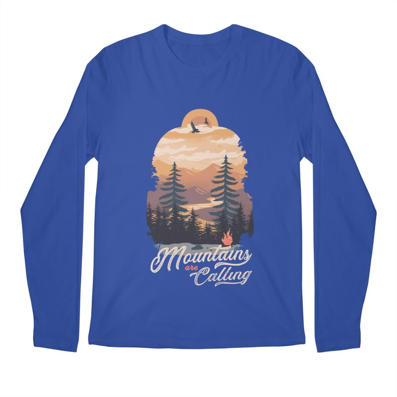 Camping Club Men's Regular Longsleeve T-Shirt by dandingeroz's Artist Shop