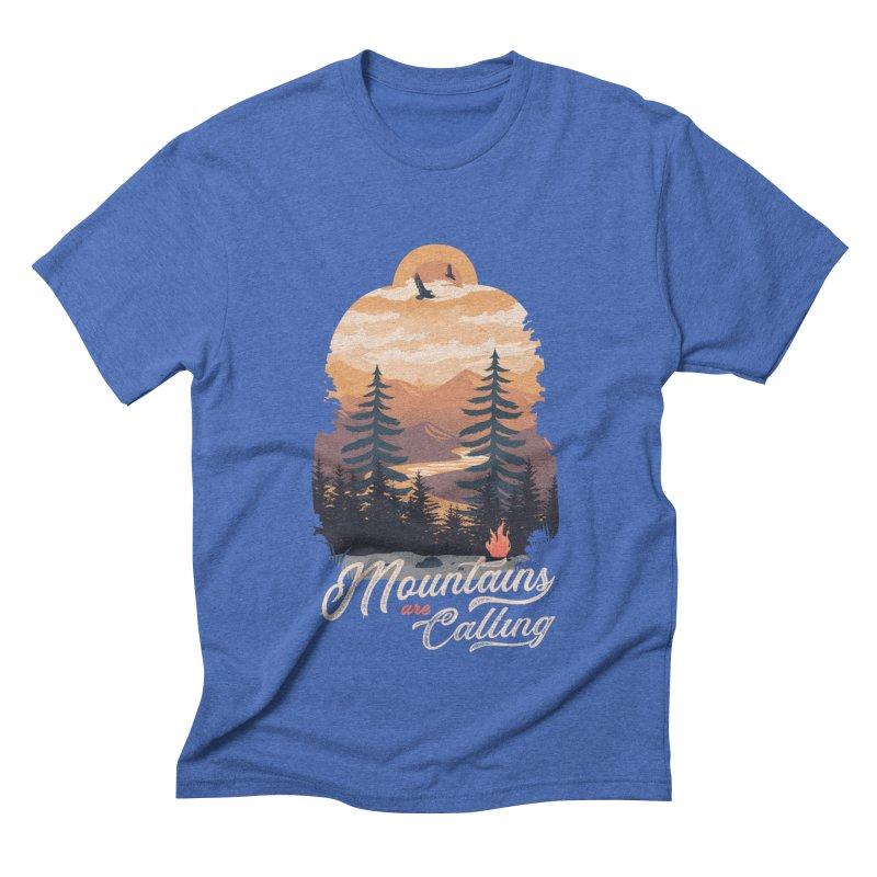 Camping Club Men's Triblend T-Shirt by dandingeroz's Artist Shop
