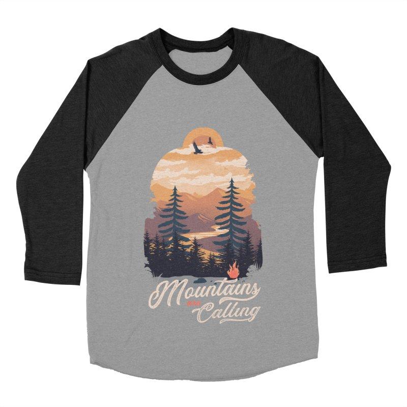Camping Club Women's Baseball Triblend Longsleeve T-Shirt by dandingeroz's Artist Shop