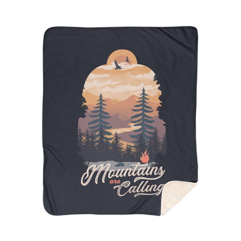 Camping Club Home Sherpa Blanket Blanket by dandingeroz's Artist Shop
