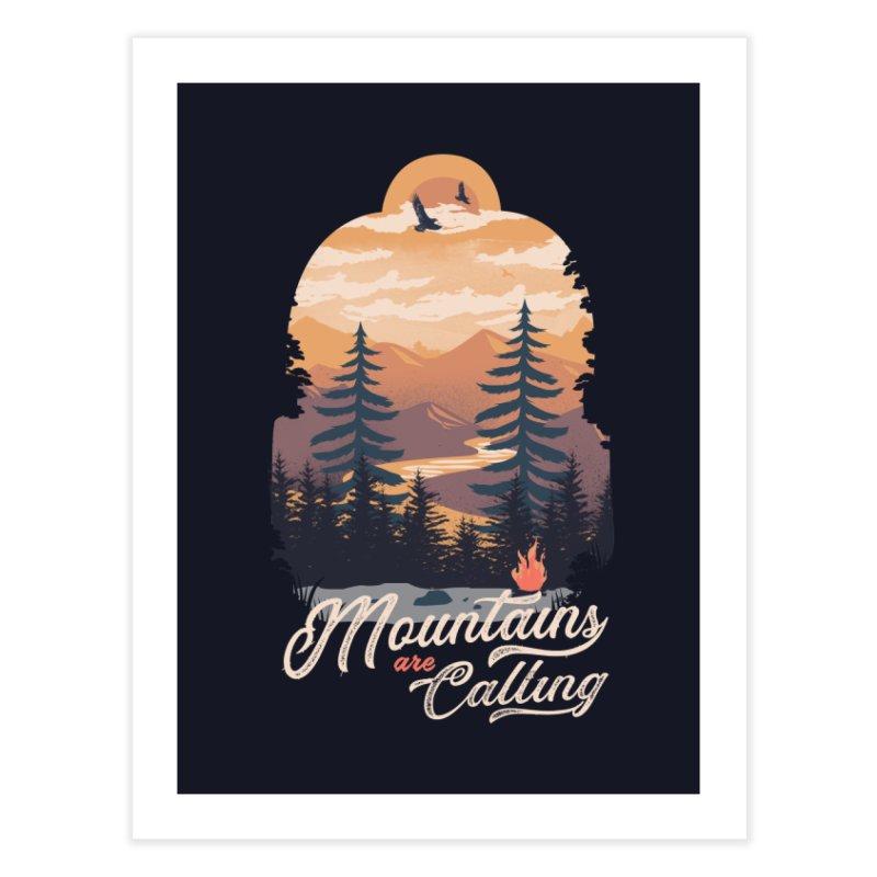 Camping Club Home Fine Art Print by dandingeroz's Artist Shop