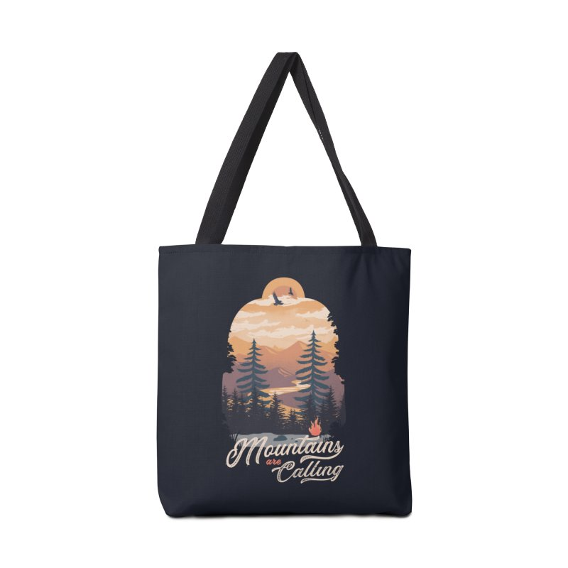 Camping Club Accessories Tote Bag Bag by dandingeroz's Artist Shop