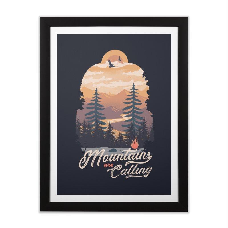 Camping Club Home Framed Fine Art Print by dandingeroz's Artist Shop