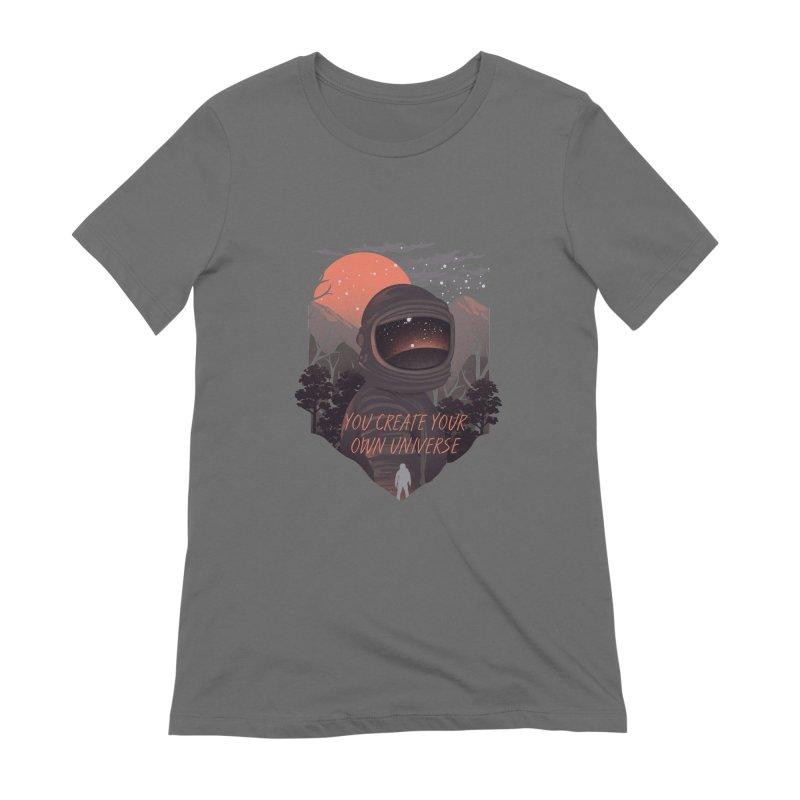 Create your own universe Women's Extra Soft T-Shirt by dandingeroz's Artist Shop