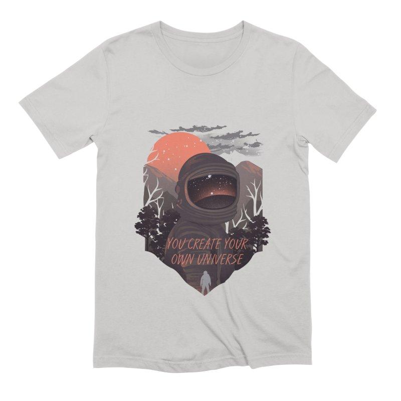 Create your own universe Men's Extra Soft T-Shirt by dandingeroz's Artist Shop