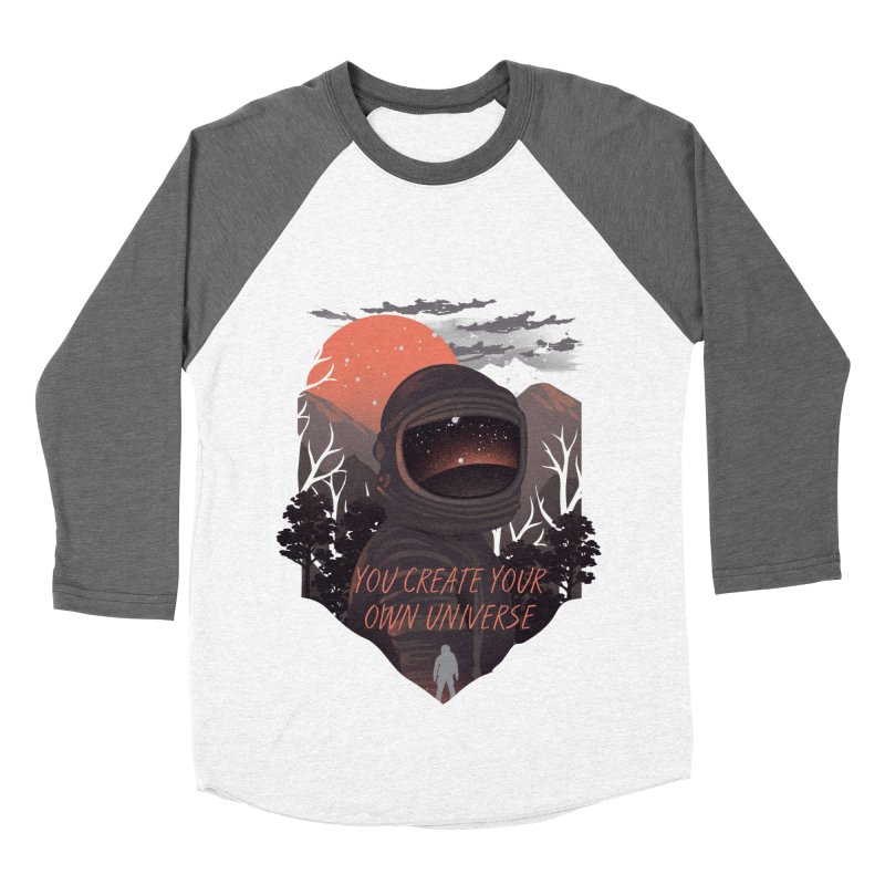 Create your own universe Men's Baseball Triblend Longsleeve T-Shirt by dandingeroz's Artist Shop