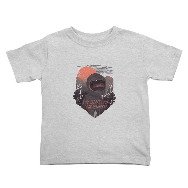 Create your own universe Kids Toddler T-Shirt by dandingeroz's Artist Shop