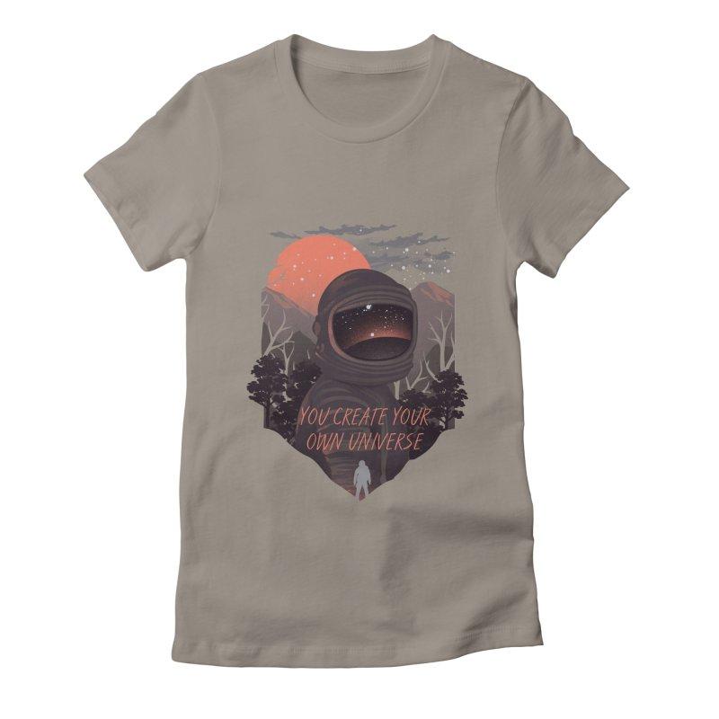 Create your own universe Women's T-Shirt by dandingeroz's Artist Shop