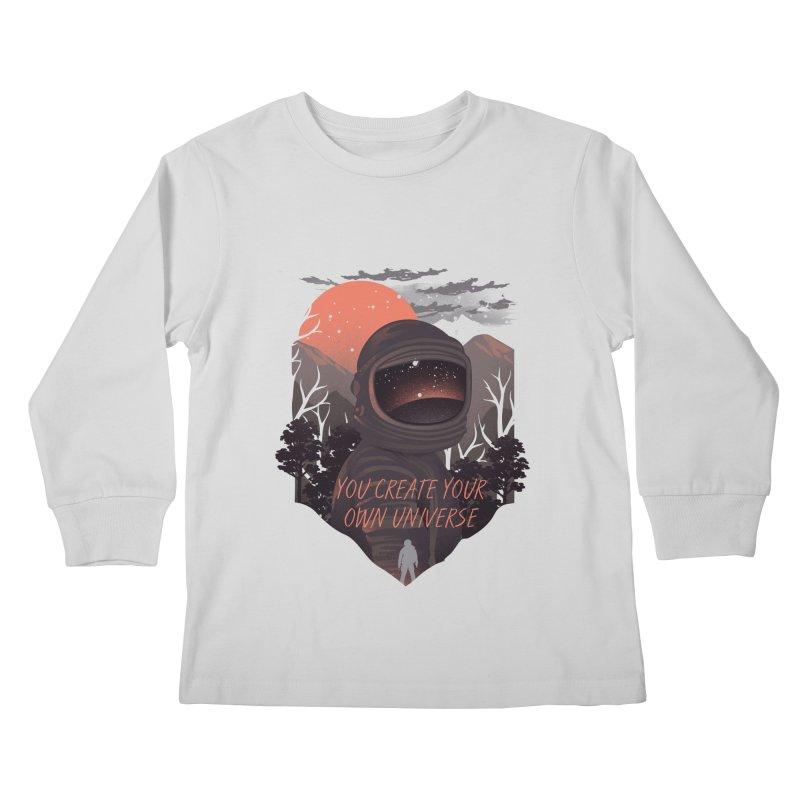 Create your own universe Kids Longsleeve T-Shirt by dandingeroz's Artist Shop