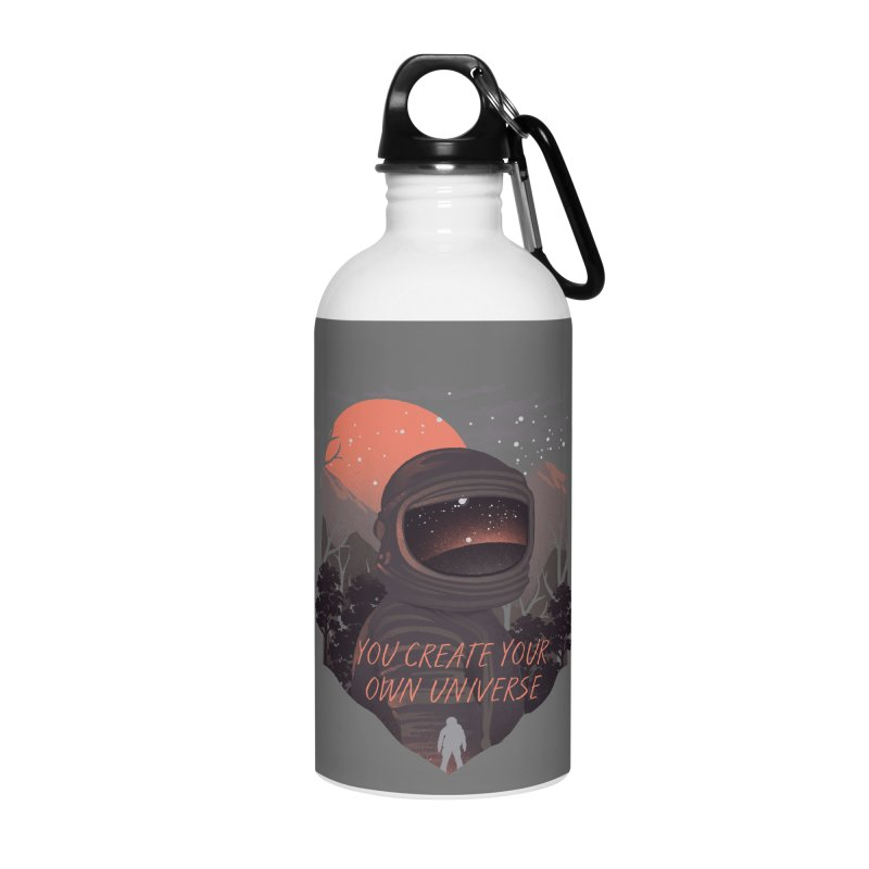 Create your own universe Accessories Water Bottle by dandingeroz's Artist Shop