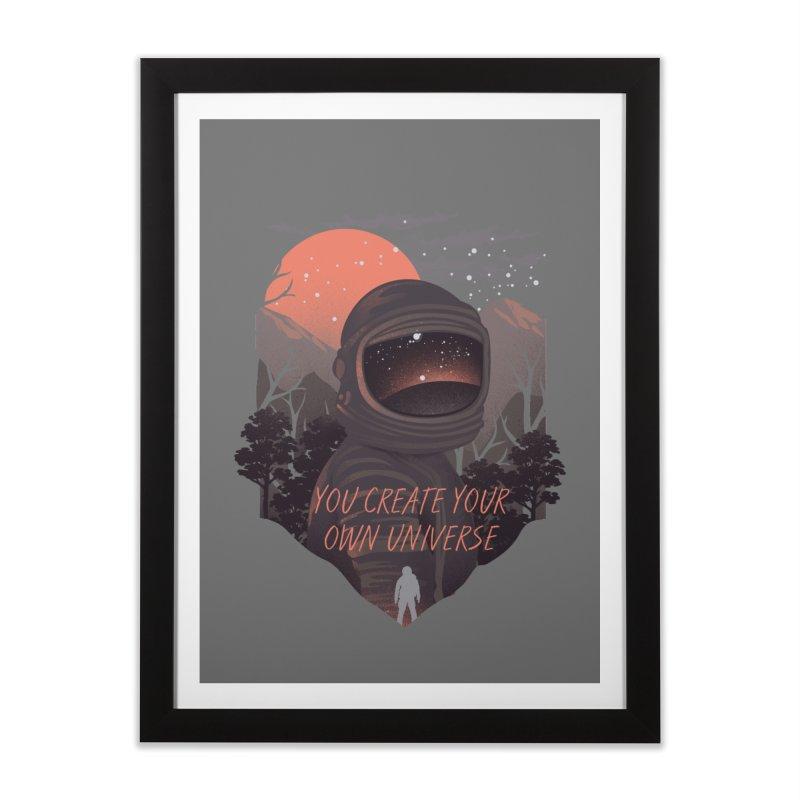 Create your own universe Home Framed Fine Art Print by dandingeroz's Artist Shop