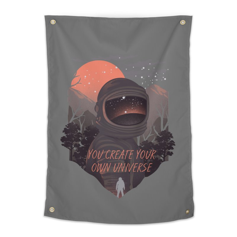 Create your own universe Home Tapestry by dandingeroz's Artist Shop