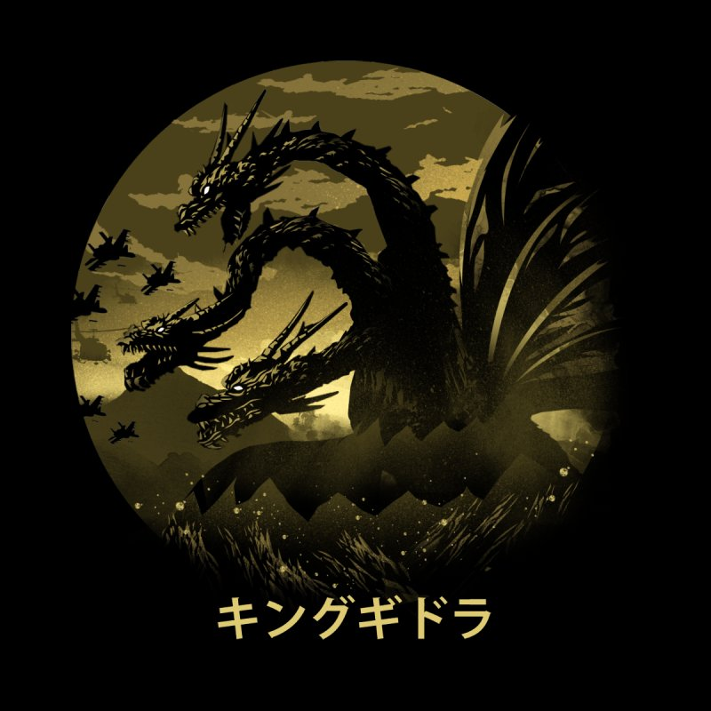 King Ghidorah by dandingeroz's Artist Shop