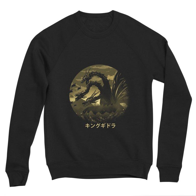 King Ghidorah Women's Sweatshirt by dandingeroz's Artist Shop