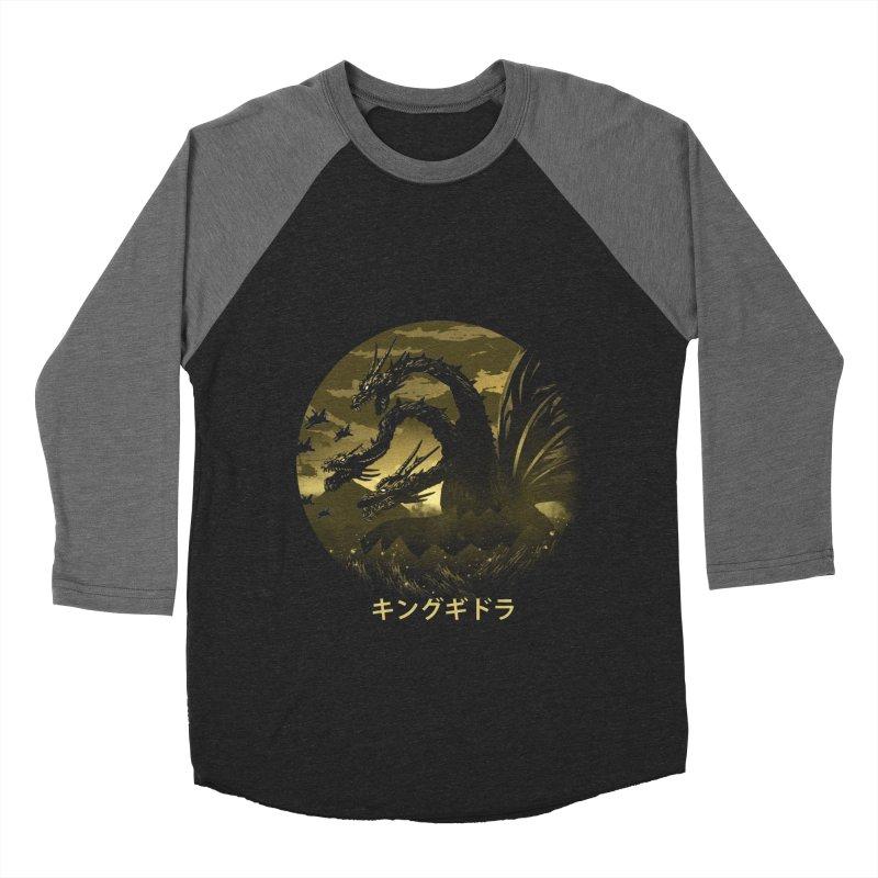 King Ghidorah Women's Longsleeve T-Shirt by dandingeroz's Artist Shop