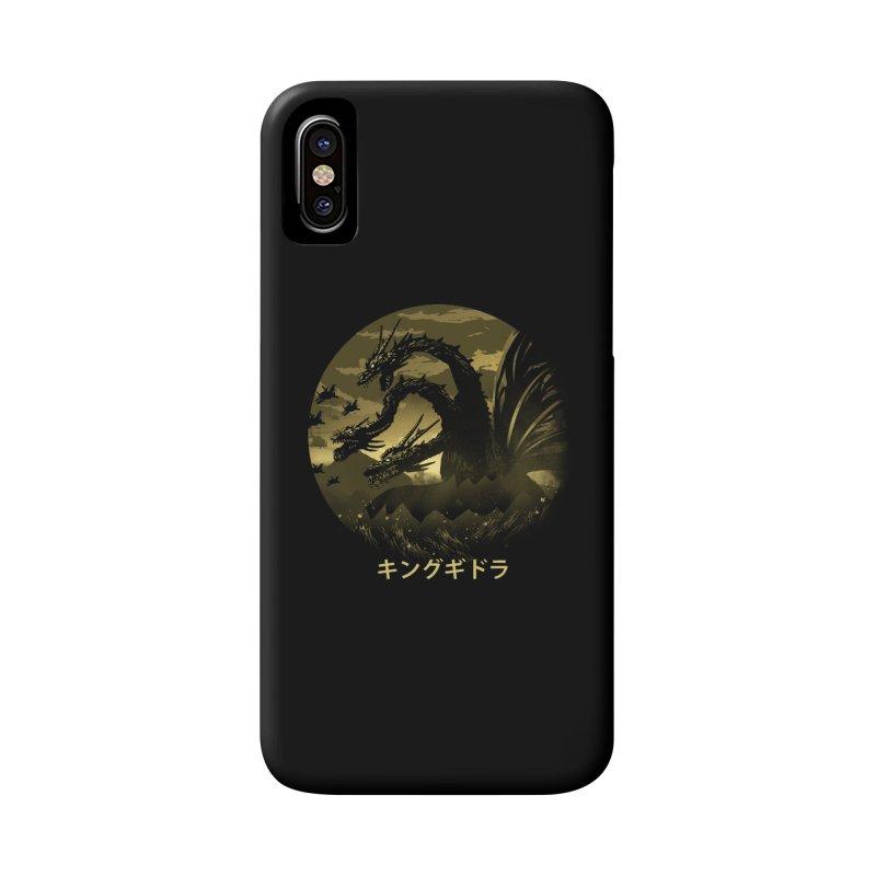 King Ghidorah Accessories Phone Case by dandingeroz's Artist Shop