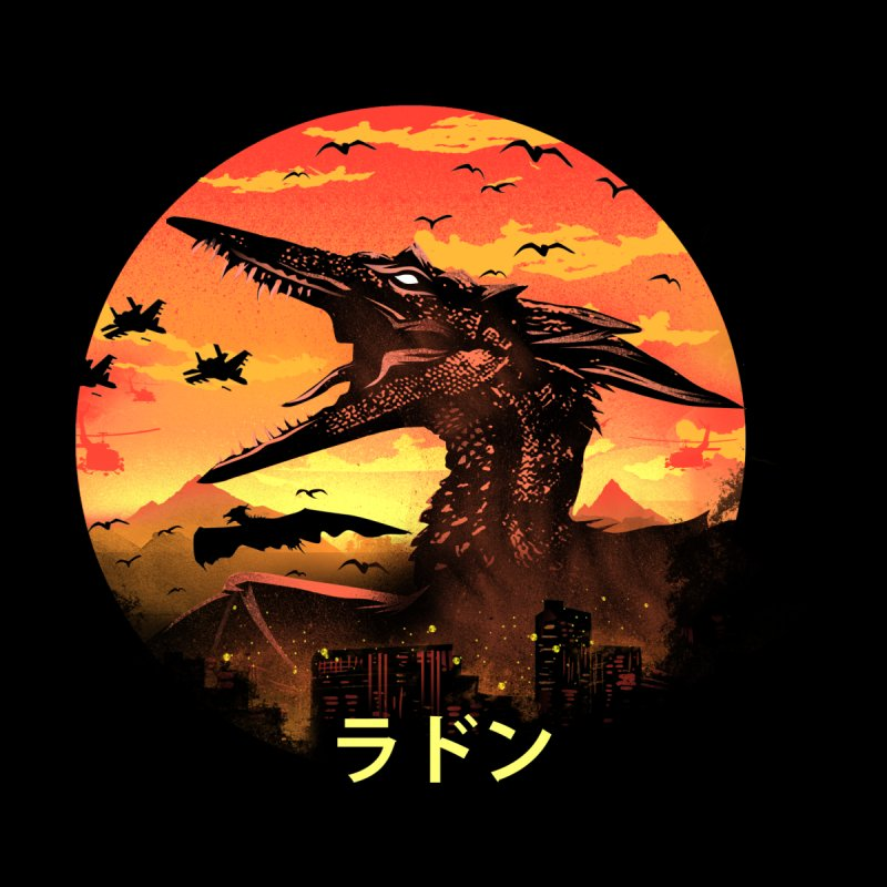 Kaiju Rodan Men's T-Shirt by dandingeroz's Artist Shop